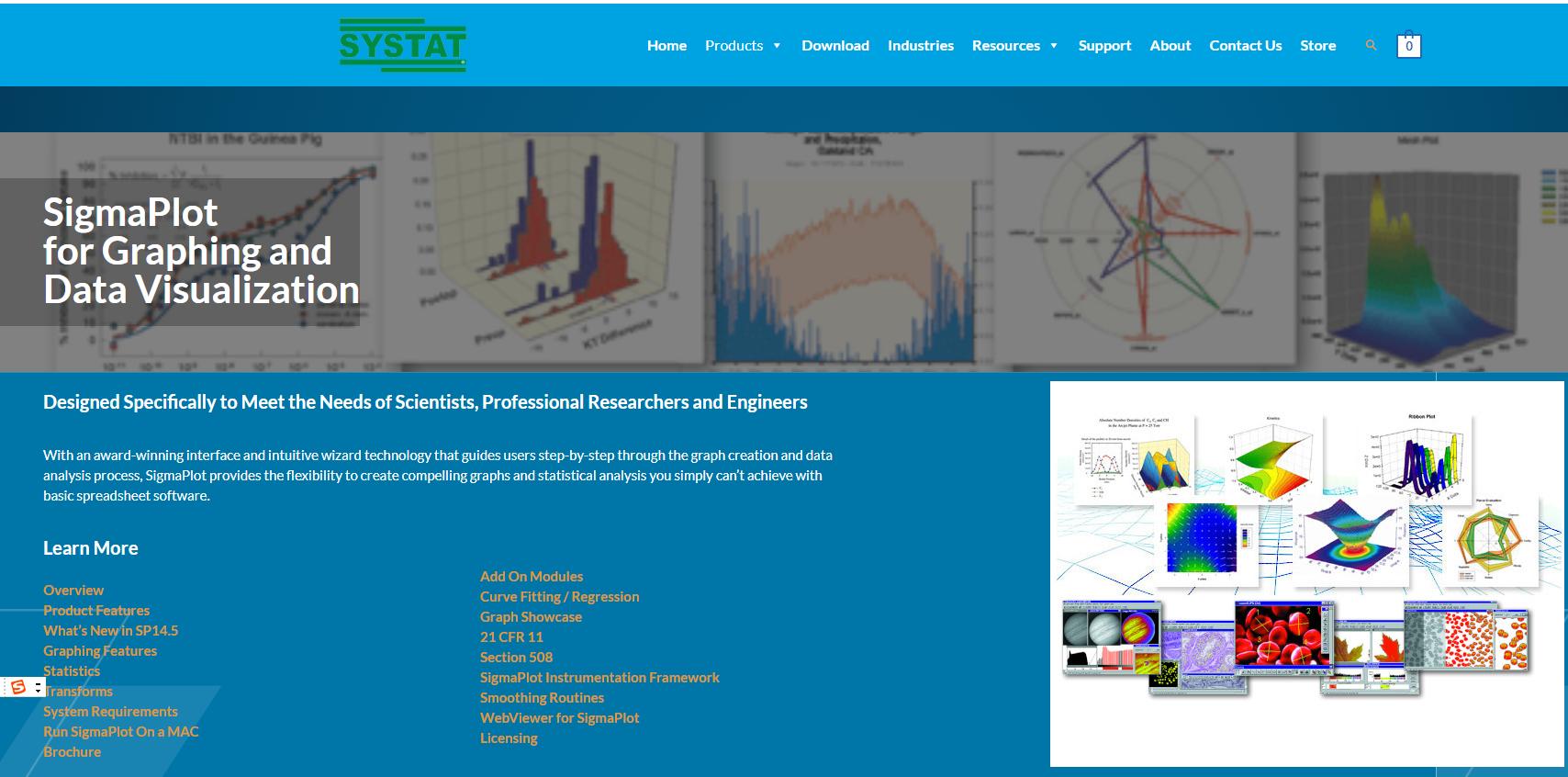 Sigmaplot网站