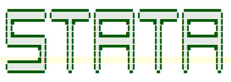 Stata连享会-Stata Logo-字符画004