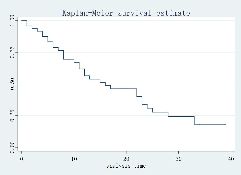 Figur5: Kaplan-Meier 生存估计量
